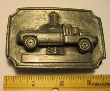 Vintage Oil Rig Truck Belt Buckle Magicast - Not Engraved