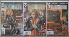 "BLACK WIDOW ""PALE LITTLE SPIDER"" #1-3 SET..GREG RUCKA.MARVEL 2002 1ST PRINT.VFN+"