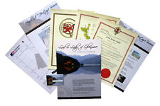 BECOME A LORD, LAIRD, OR LADY OF GLENMORE WITH LAND PLOT. GREAT GIFT IDEA