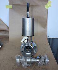 "Alfa Laval Sanitary food grade MIX PROOF Valve DN50 2"" 50mm SSV actuator DIN"