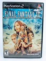 Final Fantasy XII (Sony PlayStation 2 2006 PS2) Complete W/Manual