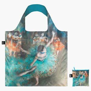 Swaying Dancer Artist Edgar Degas - Reusable LOQI Shopping Shoulder Tote Bag