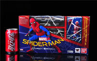 SHF SPIDER-MAN HOME MADE SUIT Ver TAMASHII OPTION ACT WALL Deluxe Edition