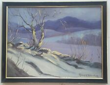 "Listed Canadian Artist - Robert E. Wood (1919-1980) - O/C- 18""x24"" Signed"