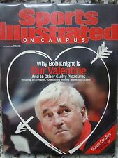 Coach Bob Knight Indiana Hoosiers Sports Illustrated On Campus 2004 No Label