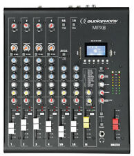 Compact 8 Channel Mixer with USB/SD & Bluetooth FREE RACK BRACKETS