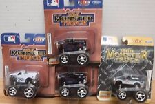 New York Yankees & Mets Fleer Mini Monster Truck Ford Pull Back 062117DBT4