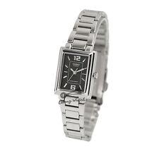 -Casio LTP1238D-1A Ladies' Metal Fashion Watch Brand New & 100% Authentic