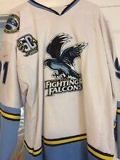 2010-11 Nahl Nicholas Sierra Port Huron Fighting Falcons Game Worn Hockey Jersey