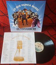 EL CONSORCIO **Lo Que Nunca Muere** VERY RARE 1994 Spain LP MOCEDADES Amaya