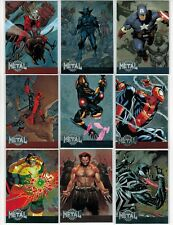 2015 MARVEL RETRO FLEER 1995 METAL BLASTER COMPLETE 42 CARD INSERT CHASE SET