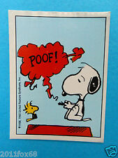 figurines figuren stickers snoopy figurine i love snoopy n. 46 panini 1980-90 gq