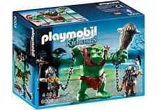 Playmobil Medievale Rif 6004 NUOVO Troll Gigante con Guerrieri Nano, Orco, Dwarf
