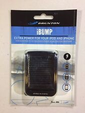 Brunton iBump - Battey and Solar Charger for Apple 30 pin iPhone & iPod - NEW