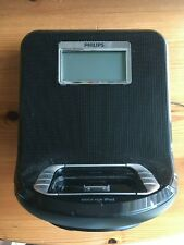 Phillips Ipod/radio/sistema de entretenimiento de acoplamiento Reloj de Alarma Aj301DB/12