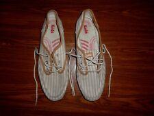 Keds Striped  SHOES WOMENS SIZE 8