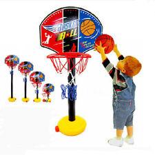 Adjustable Toddler kid's Mini Basketball Toy Basketball Hoop Stand Sport Set
