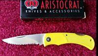 Degen Aristocrat TROPHY Lightweight Lockback Knife Made in Japan Old Quality New