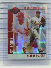 New listing 2008 Topps Co-Signers Albert Pujols Red #083/100 Cardinals V30