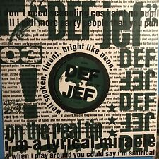 DEF JEF • On The Real Tip • Vinile 12 Mix • BRW 123