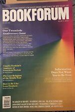 Book Forum 20th Anniversary Racism Lena Dunham Dec Jan 2014 2015 FREE SHIPPING!