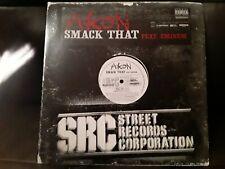 """Akon ft. Eminem - """"Smack That"""" 2006 Promo Vinyl 12"""" Single MINT! B0007877 RARE!!"""