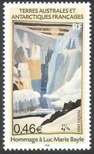 FSAT/TAAF 2003 Art/Paintings/Bayle/Glacier/Antarctica/Artists 1v (n31915)