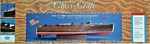 Dumas Model Boat Chris-Craft 24' Mahogany Runabout 1930 -1230 -