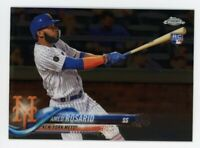 2018 Topps Chrome Update AMED ROSARIO Rookie Card RC #HMT29 New York Mets