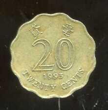 HONG KONG 20 cents 1993 ( bis )