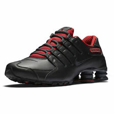 NIKE SHOX NZ SE RUNNING SHOES BLACK MENS SIZE 10.5 NEW 833579-003 LEATHER