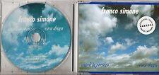 FRANCO SIMONE CD SINGLE 4 TRACCE Angeli in prestito 1994 MADE in ITALY