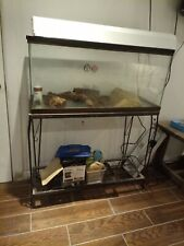 New listing 50 gallon fish tank with stand Cover And Light