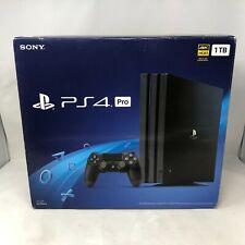 Sony Playstation 4 Pro Black 1TB Full Kit - BRAND NEW!!