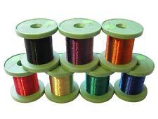 Sortiment Kupferlackdraht 0,15mm 7 Farben Lackdraht CU-Draht auf Spule je 100m
