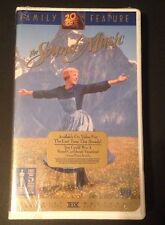 THE SOUND OF MUSIC ( Julie Andrews) Unopened, VHS tape/THX digitally remastered