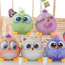 """7"""" Angry Birds Plush Toys Cartoon Movie Soft Doll Set of 5 kids Childrens' Gift"""