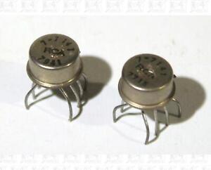 Lot Of 2 7-7141 (CA3080A) Vintage Metal Can ICs