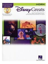 Disney Greats Horn Learn to Play Songs Favorites Tunes French Horn MUSIC BOOK