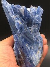 635g Natural Blue KYANITE with Mica & Quartz Crystal Specimen Rough 9265