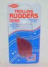 "Luhr Jensen Les Davis Package of 2 Pink 1 3/4"" Trolling Rudders Downrigger Lure"