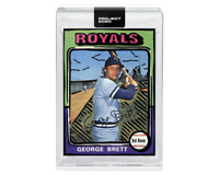 Topps PROJECT 2020 Card 232 - 1975 George Brett by Joshua Vides - PR 2243