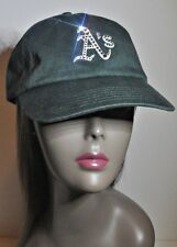 Oakland A's Bling Womens Hat Cap Worlds Finest Crystal Rhinestones