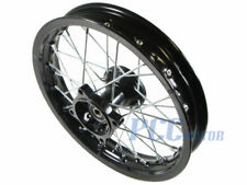 "14"" BLACK FRONT RIM WHEEL HONDA SDG COOLSTER 110 125cc PIT BIKE 12MM I RM08K"