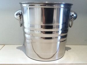 3x Brand New Stainless Steel Ice Bucket