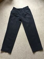 MENS NAVY TROUSERS SIZE 30
