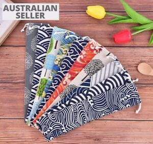Soft Cutlery Bag Knife Fork Bags Case Portable Storage Picnic Travel Camping X 2