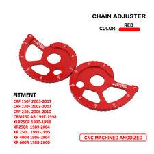 CNC Chain Adjuster For Honda CRF150F 230F 230L XLR250R XR250L 400R 600R CRM250AR