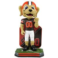 Chomps Cleveland Browns Mascot Name and Number Bobblehead NFL