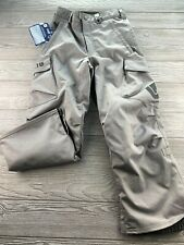 *burton snowboard pants Men's XS Grey Excellent Condition